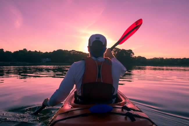 kayaking as a workout