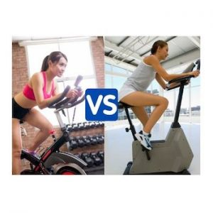 spin bike vs exercise bike