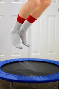 benefits of jumping on mini trampolines