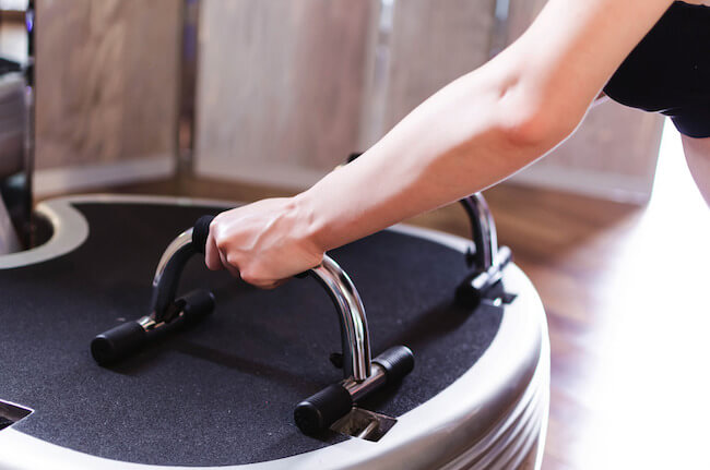 what's the best speed on vibration plates for weight loss