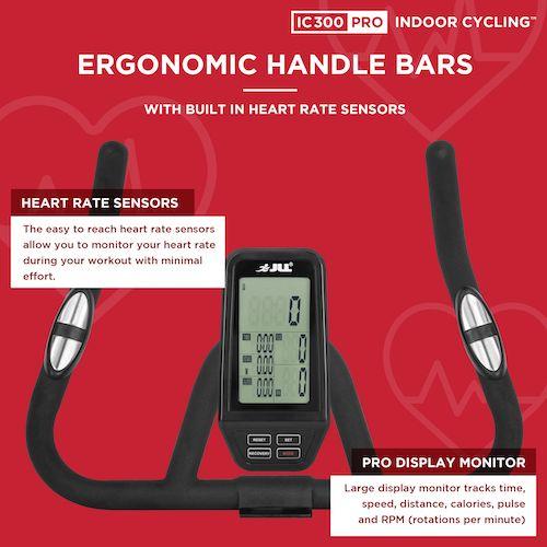 jll ic 300 pro handlebars and health monitor
