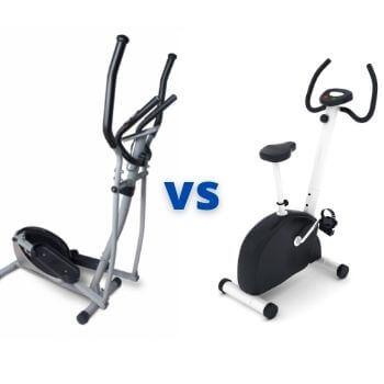 cross trainer vs exercise bike