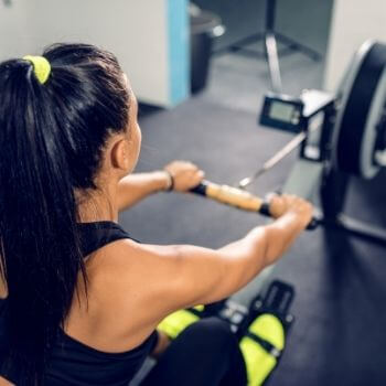 is rowing good for losing weight?